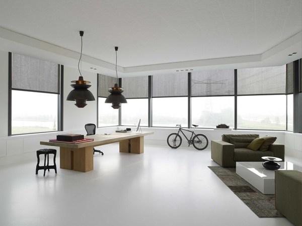 Living minimalist cu Marmoleum