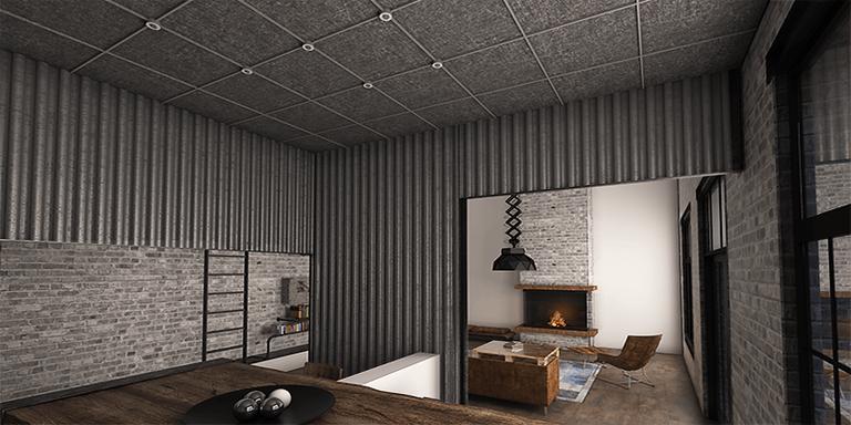 Living industrial, concept Zone Deco