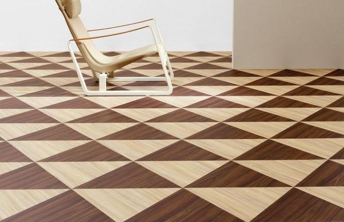 Allura Form LVT triunghi de la Forbo Flooring
