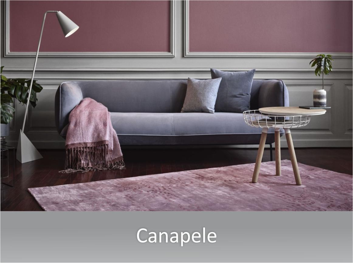 mobilier pentru interioare rezidentiale - mese, scaune, canapele