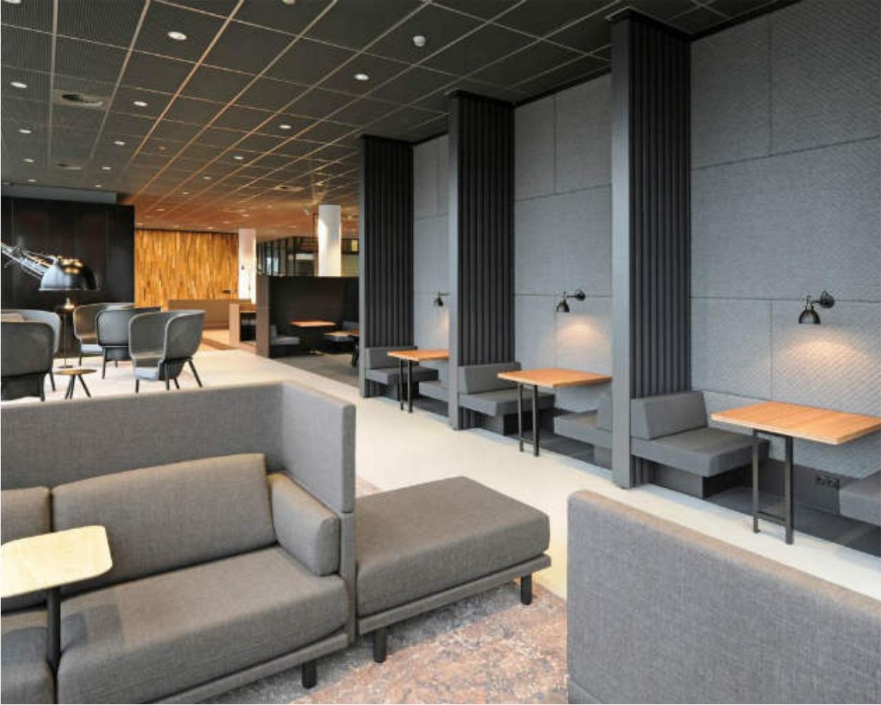 Placări acustice pentru pereți. Design interior exclusivist